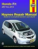 Honda Fit (2007-2013) Haynes Repair Manual (USA)