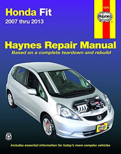 Honda Fit 2007 Thru 2013 (Hayne's Automotive Repair Manual)