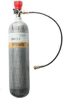 IORMAN 3L 4500psi Carbon Fiber Air Tank & Fill Station for PCP Paintball Scuba SCBA(Empty Bottle)