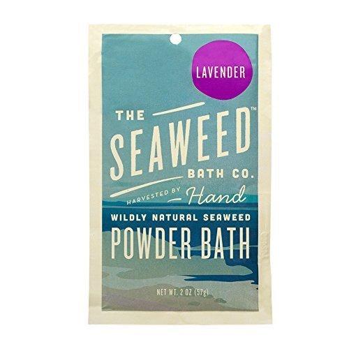 Wildy Natural Seaweed Lavender Powder Bath The Seaweed Bath Co. 2 oz Powder by The Seaweed Bath Company
