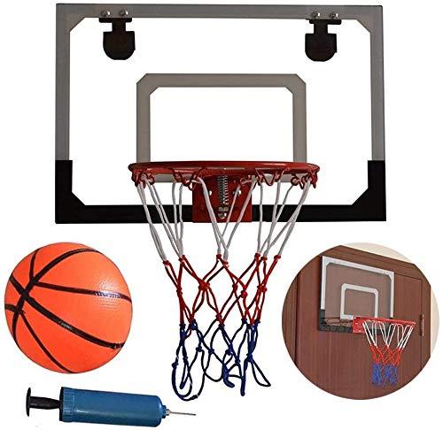 LYX Innenmini Basketball Wandmo Hoop Set - Basketballkorb mit Ball & Pumpe for Büro, Schlafzimmer und Heim, Großes Geschenk for Basketball-Liebhaber