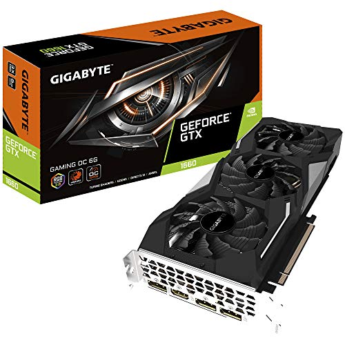 Gigabyte Gaming OC 6GB GDDR5, GV-N1660-GAMING OC-6GD