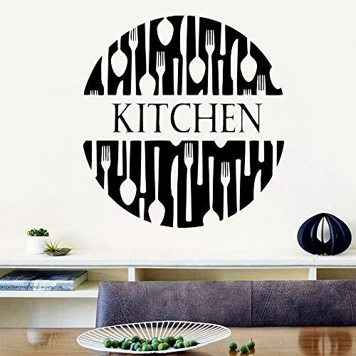 Vinilo cocina pegatinas de pared extraíbles habitación de los niños papel tapiz de fondo calcomanías de arte de pared pegatinas decorativas de pared A9 L 43x45cm