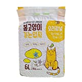 ZIYU Tofu Arena para Gatos,Sin Polvo,Aglomerante,Vegetal,Apto para Gatos En Todas Las Etapas,6l/2.8kg