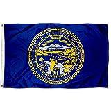 Sports Flags Pennants Company State of Nebraska Flag 3x5 Foot Banner