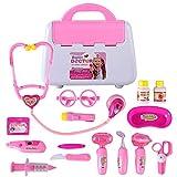 ColiCor 15St. Spielzeug Arztkoffer Arztkoffer Kinder Arztkoffer Medizinisches Spielzeug mit Ton und Licht für Kinder