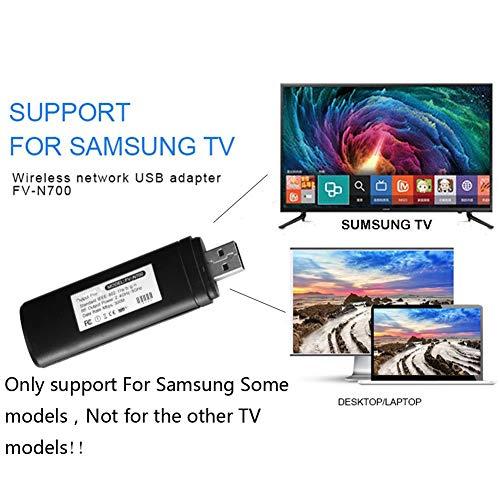 Bebester - Adaptador inalámbrico USB para TV (300 Mbps, 2,4-5 GHz, WIS12ABGNX WIS09ABGN,...