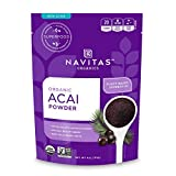 Navitas Organics Acai Powder, 4 oz. Pouch — Organic, Non-GMO, Freeze-Dried, Gluten-Free