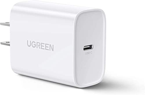 high quality UGREEN 30W USB C Wall Charger - PD Fast Charger Block Power Adapter Compatible for outlet sale MacBook Air, iPhone 12/12 Mini/12 Pro Max, Galaxy S21/ S21+, Note 20/ Note 10, iPad Pro, Pixel, Airpods 2021 and More online