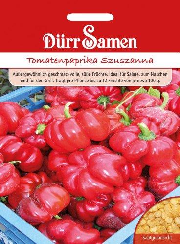 Dürr Samen 1967 Tomatenpaprika Szuszanna (Tomatenpaprikasamen)