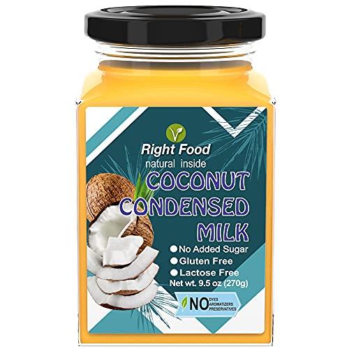 Latte di Cocco Condensato Sguchchenka 270 gr | Vegan Sweet | Senza Glutine | Tutto Naturale (Latte di Cocco Condensato)