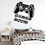 Nueva sala de juegos vinilo adhesivos de pared papel tapiz decoración de la...