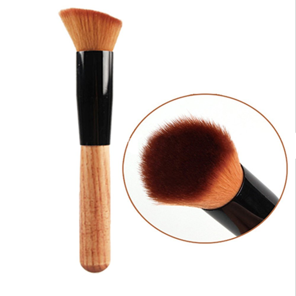 Uiversal Professional Free shipping / New Wood Handle Makeup Cosme Brush Soft Price reduction Powder
