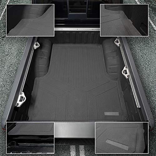 SMARTLINER K0121 Rugged Rubber Bed Liner Mat for 2004-2020 Nissan Frontier Only Fits Crew Cab Short 5 ft Bed