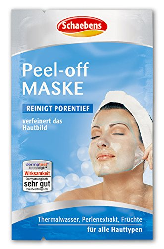 Schaebens Peel-Off Maske, 10er Pack (10 x 15 ml)