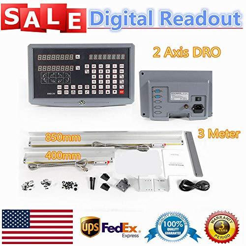 Best Price 2-Axis Digital Readout Digital Display Accuracy Linear Scale Milling Machine Digital Disp...