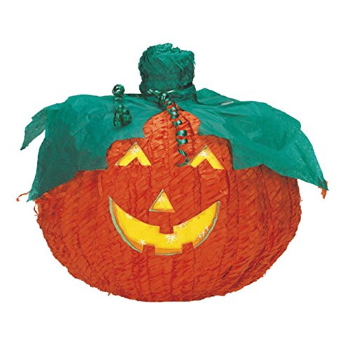 amscan- Piñata Halloween Citrouille, P01535, Orange