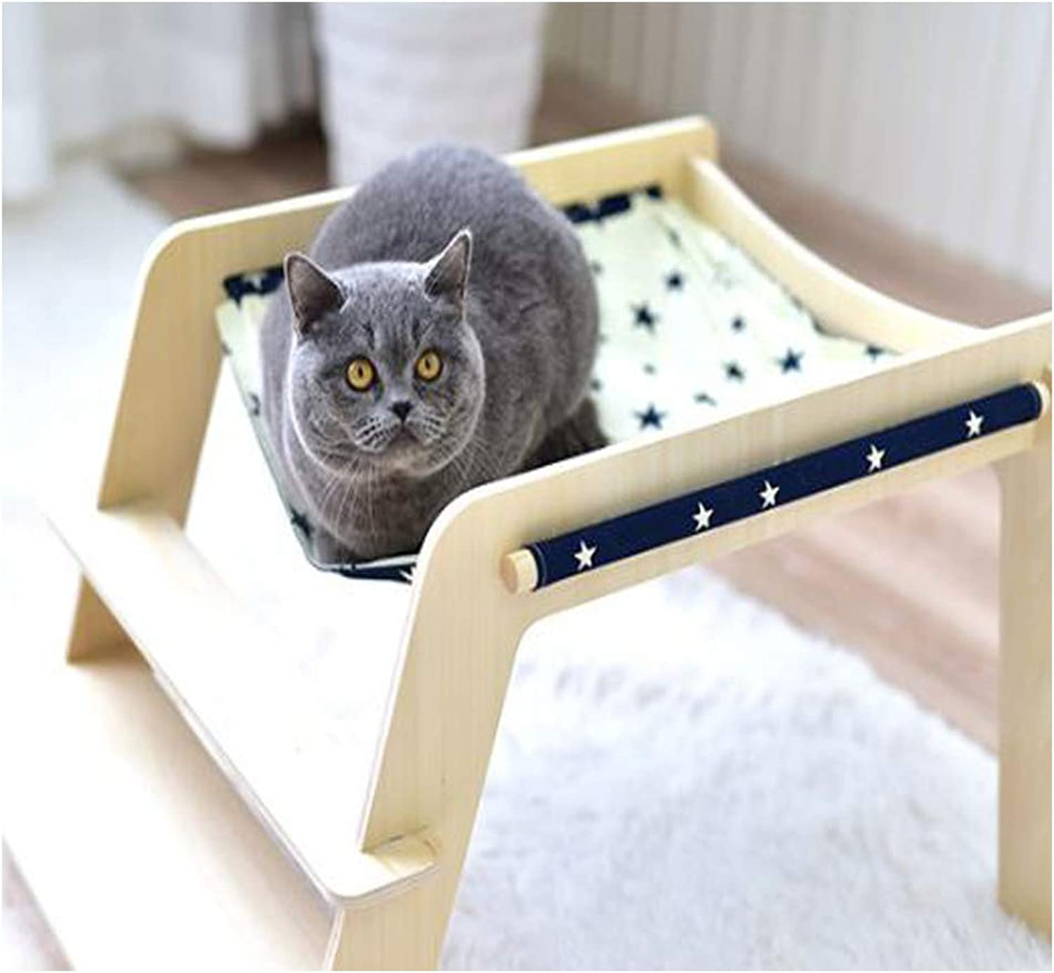 GDDYQ Pet bed, pet stair bed easy to install easy to clean, four seasons universal for cats and small dogs,1