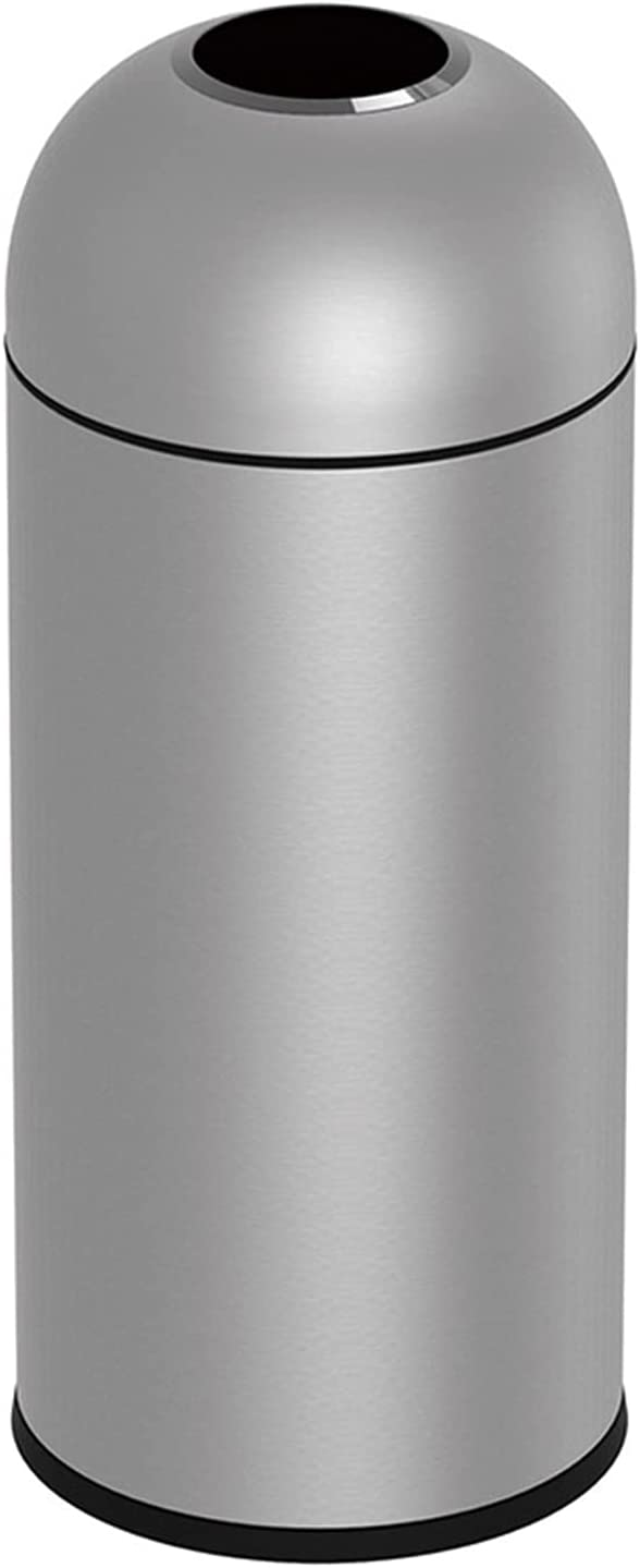 LOMJK National products Outdoor 5 popular Trash Cans Bins O Dustbins Stainless Steel