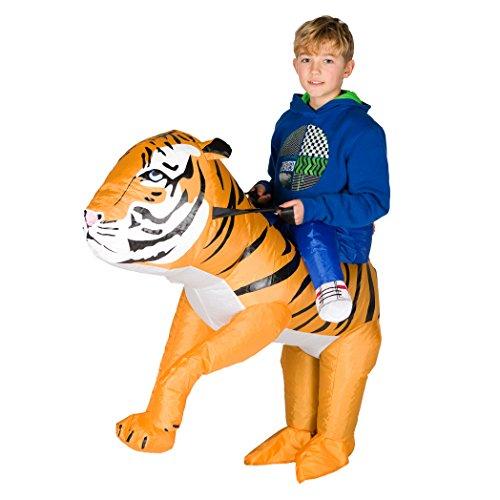 Bodysocks® Déguisement Tigre Gonflable Enfant