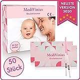 EINFÜHRUNGSANGEBOT Ovulationstest 50 Streifen - Fruchtbarkeitstest für Frauen - Teststäbchen