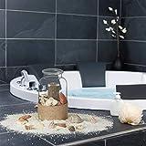 Relaxdays Muschel Deko Mix, Set mit Meeresschnecken, Dekomuscheln, echte Stranddeko zum Basteln, Badezimmer, 500 g, bunt - 2