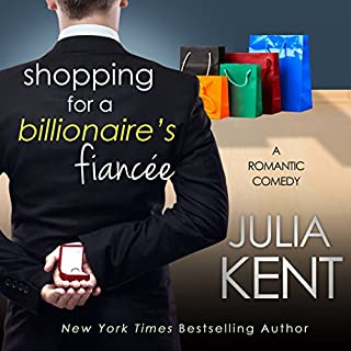 Shopping for a Billionaire's Fiancee audiobook cover art