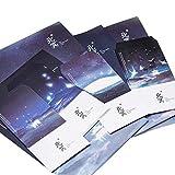12個入り封筒セットギフトカードアートシンプルスタイル封筒#5
