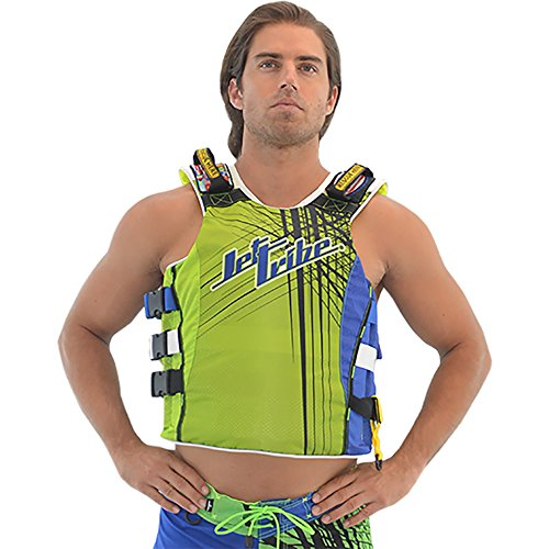 Fantastic Deal! UR-20 Spike Side Entry Vest, Jet Ski Life Jacket Race Vest PWC Jetski Watercraft Blu...