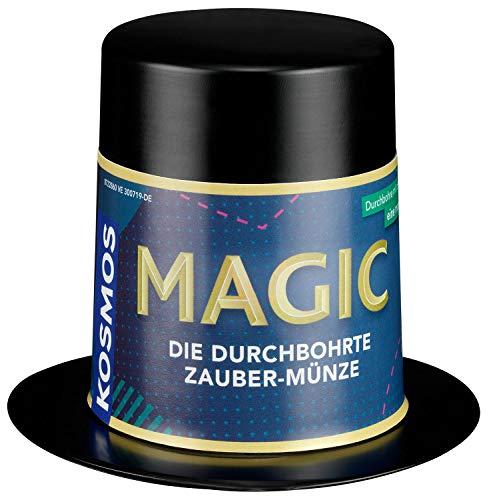 Kosmos 601744 Magic Mini Zauberhut-Die durchbohrte Münze Zauber-Set