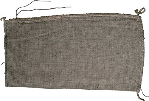 Jute-Sandsäcke Größe 30x60cm mit Jutebindeband gebündelt Qualiät 10 oz, 100St.