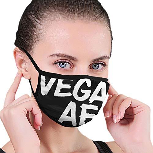Mengghy Vegan Af - Pañuelo a prueba de polvo sin costuras para la cara