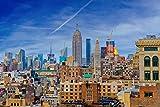 hansepuzzle 35659 Rascacielos - New York, 2000 Piezas en Caja de cartón, Piezas de Rompecabezas en Bolsa resellable