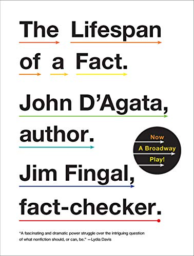 Compare Textbook Prices for The Lifespan of a Fact 1 Edition ISBN 8601401183952 by D'Agata, John,Fingal, Jim