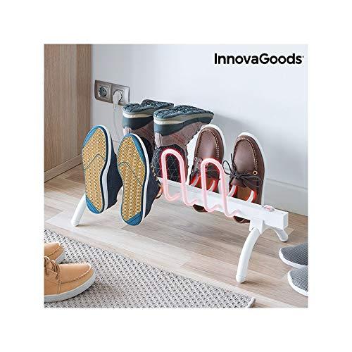 InnovaGoods Tendedero Secador Eléctrico De Calzado, Blanco, Talla Única