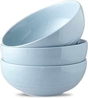 Joyroom Ceramic large Salad Bowls, 55 OZ Soup Bowls Microwave Safe, Ramen Bowl, Pho Bowl, large Serving Bowl For Pasta, Fr...