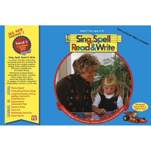 Level 1 Home Kit Second Edition Sing Spell Read And Write
