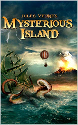 Mysterious Island illustrated (English Edition)
