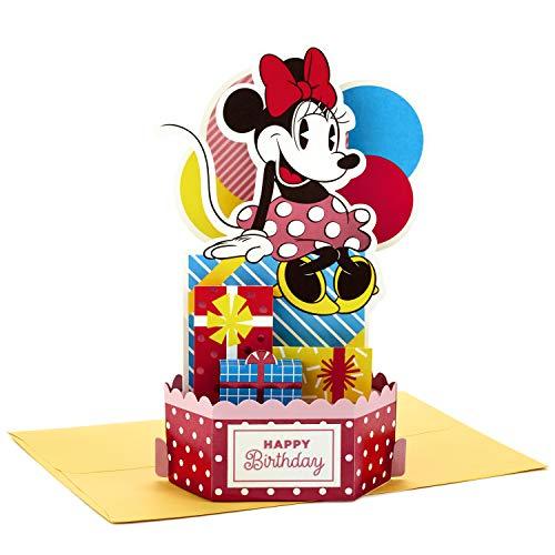 Hallmark Paper Wonder Minnie Maus Pop-Up-Geburtstagskarte (extra süß)