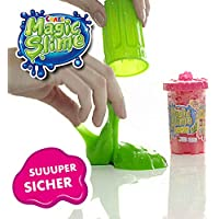 CRAZE Magic Slime Fireman Sam moco mágico Fiesta Limo en Barril 150 g de Arcilla Incl. Bombero Sam Figura 16626