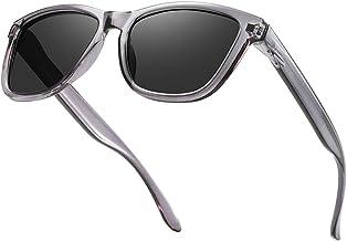 Dollger Polarized Sunglasses for Men Women Retro Classic UV400 Protection Sunglasses