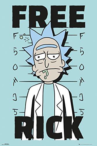 GB Eye LTD, Rick y Morty, Free Rick, Maxi Poster 61x91,5cm