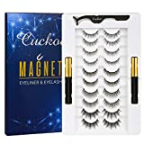 Magnetic Eyelashes and Eyeliner Kit, Magnetic Eyeliner for Magnetic Lashes Set, With Reusable False Lashes [10 Pairs]