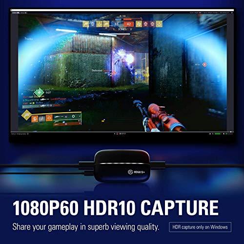 Elgato Game Capture HD60 S+, Capture Karte für Aufnahme in 1080p60 HDR10 und verzögerungsfreies Passthrough & Cam Link 4K, Live-Streamen und Aufnehmen mit DSLR, Action Cam oder Camcorder in 1080p60