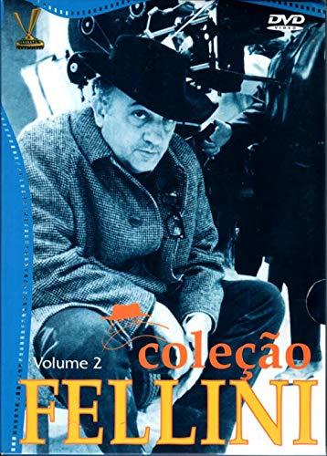 Colecao Fellini - 4 DVDs - Abismo de Um Sonho, A Doce Vida, Julieta dos Espiritos, Nino Rota - Entre o Cinema e o Erudito