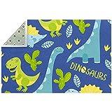 Lindo dinosaurio alfombra grande para sala de estar, dormitorio,...