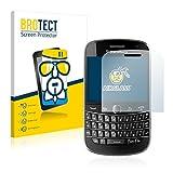 BROTECT Protector Pantalla Cristal Compatible con Rim Blackberry Bold Touch 9900 Protector Pantalla Vidrio Dureza 9H AirGlass