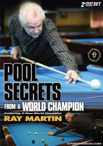 Pool Secrets from a World Champion (Two DVD Set) by Ray Martin