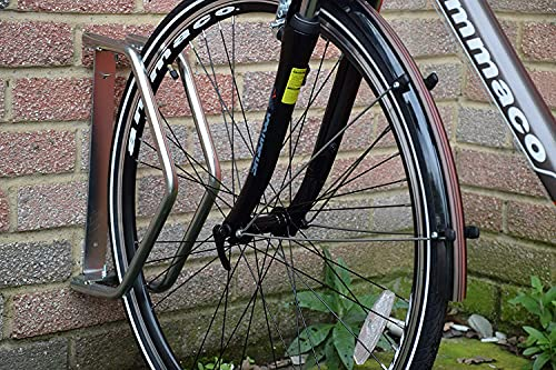 Heavy Duty Cycle Stand, Silver or Bike Display