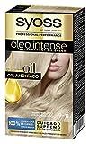 Syoss Oleo Intense - Tono 9-11 Rubio helado – Coloración permanente sin amoníaco – Resultados de peluquería – Cobertura profesional de canas - 120 g